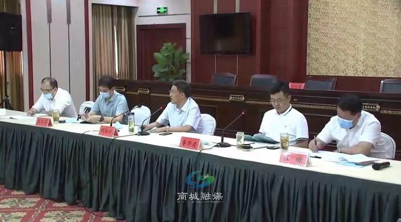 """商城县召开2021年""""万人助万企""""银企合作对接会"""