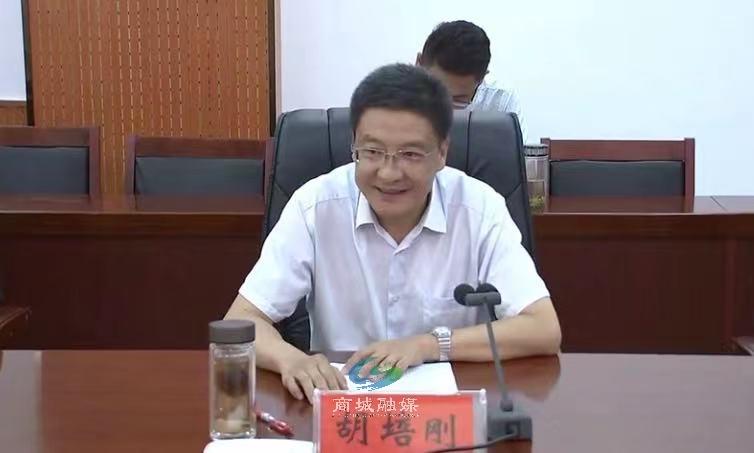 国家电投河南公司党委书记、董事长梁华军一行到商城县调研对口帮扶工作